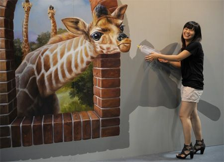 Chinese Interactive 3D Painting