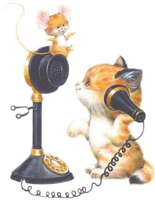 Gato Y Ratón Http Www Silvitablanco Com Ar Ruth Morehead Ruth Morehead Htm Cute Drawings Cat Art Cute Illustration