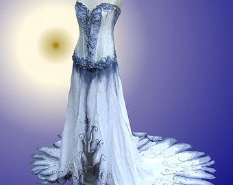 Stunning Corpse Bride Wedding Gown Photos - Beautiful Best Party ...
