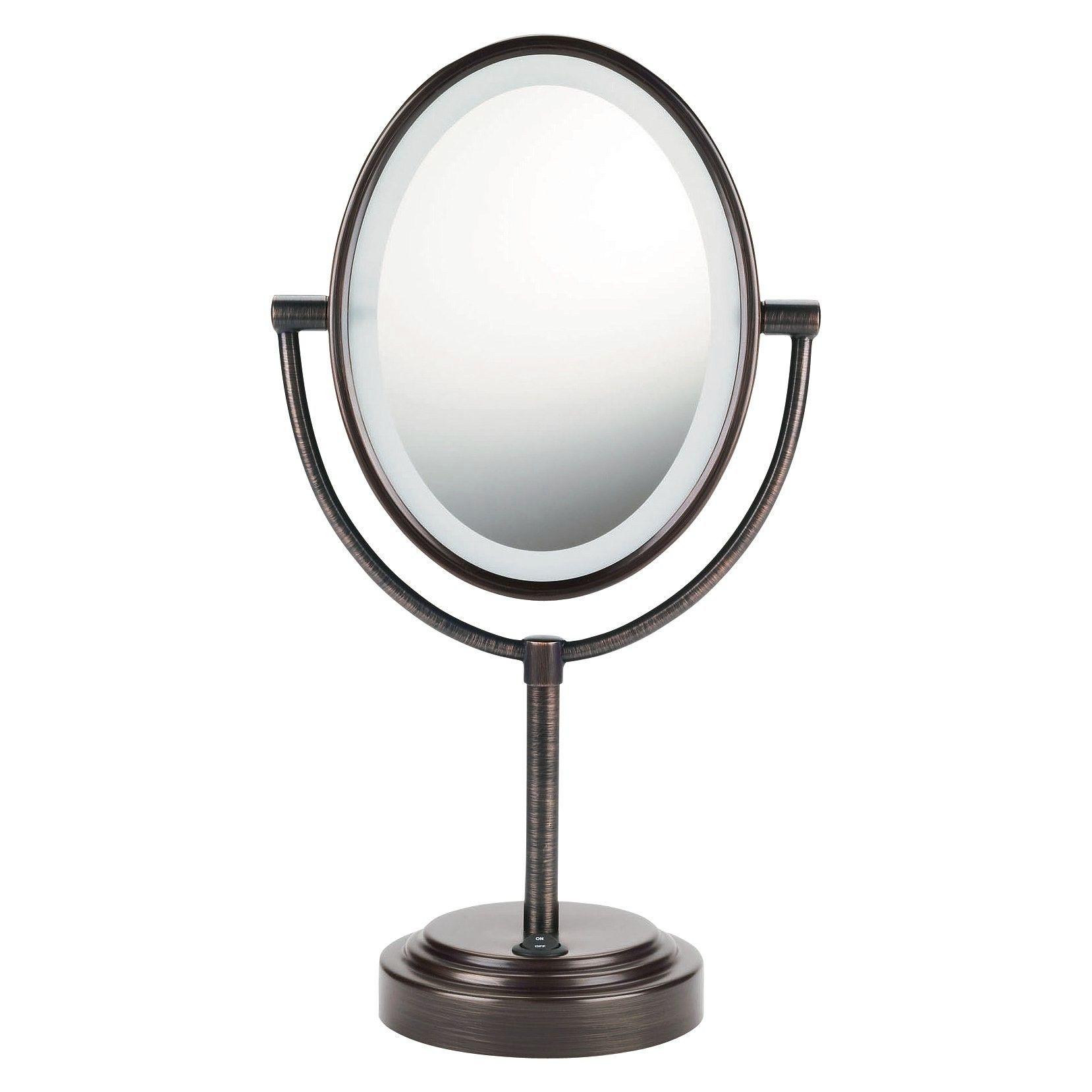 Conair Oiled Bronze Double Sided Oval Illuminate Target