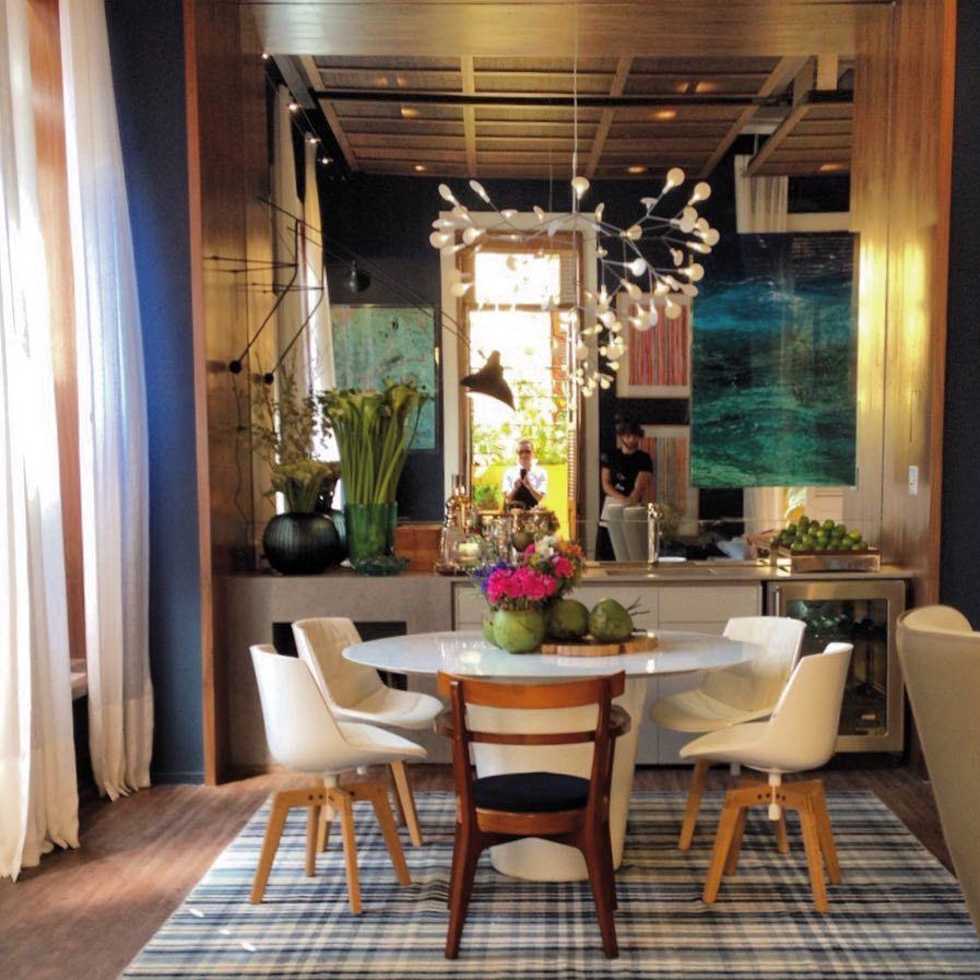 Dining Room Storage Ideas To Keep Your Scheme Clutter Free: Ambiente De Paola Ribeiro Para A Casa Cor RJ @casacor