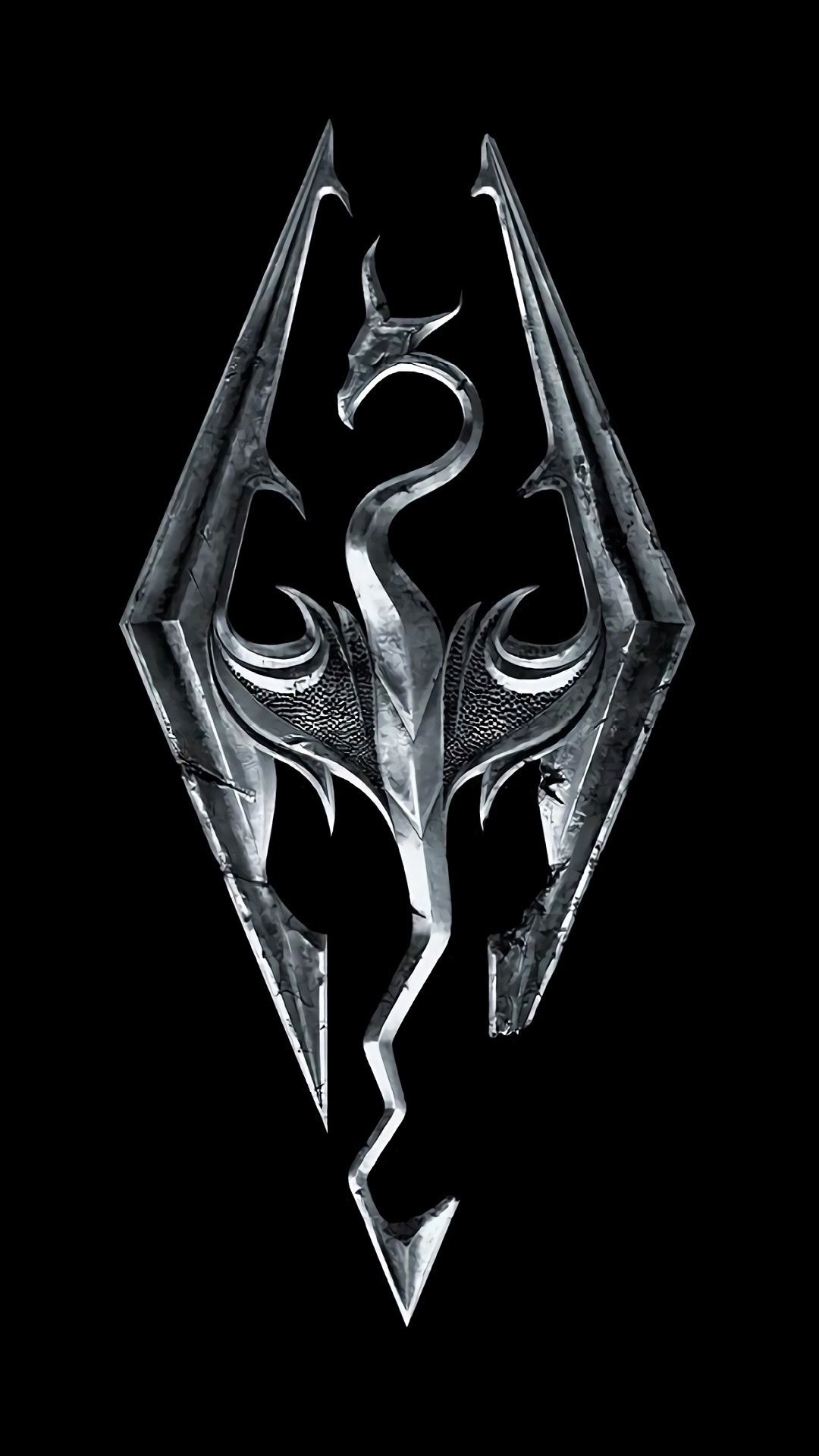 Logo Skyrim Wallpaper Iphone Skyrim Wallpaper Skyrim Wallpaper Iphone Skyrim Dragon