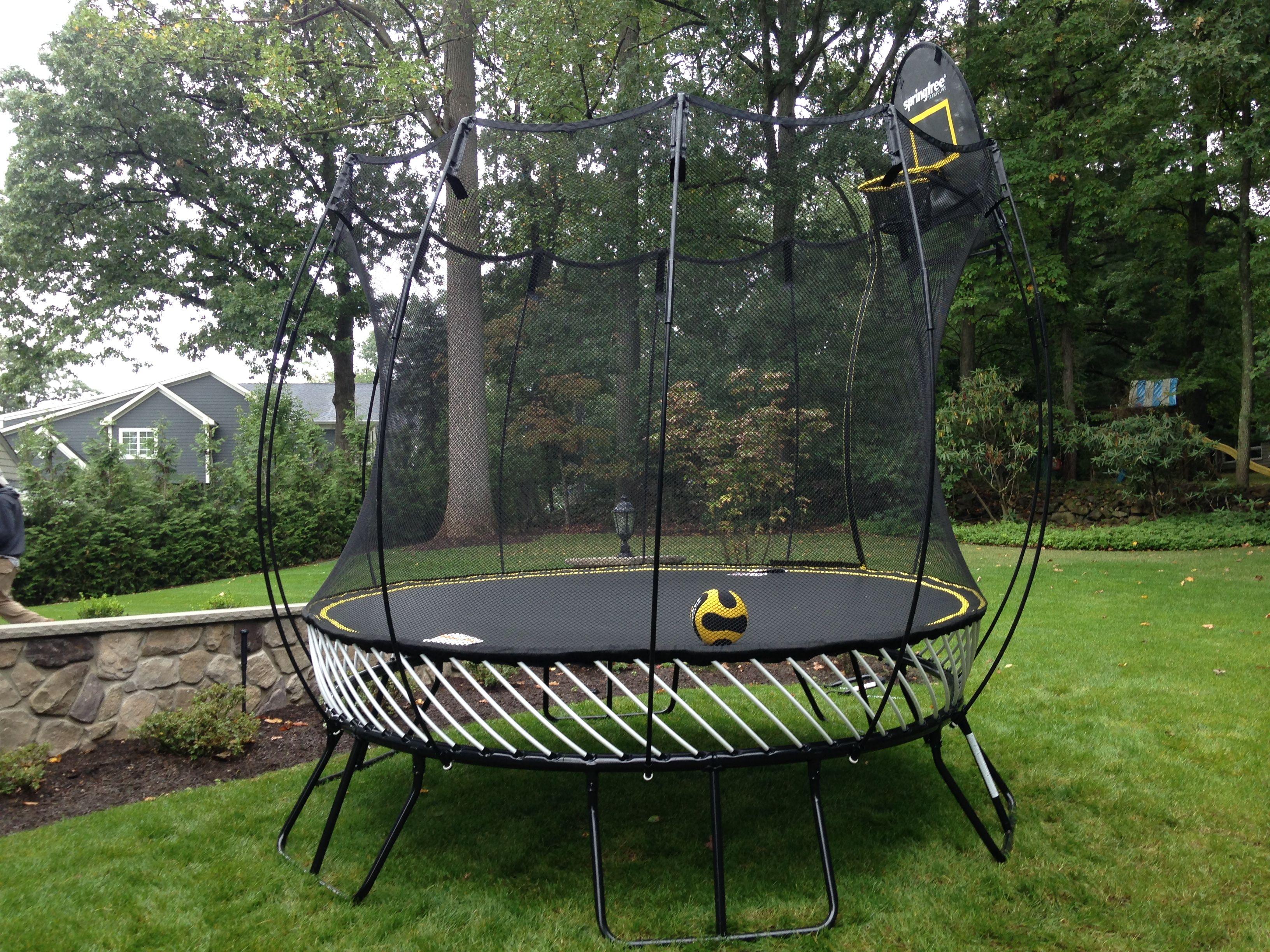Springfree Trampoline 10 ft Round. | Backyard trampoline ...