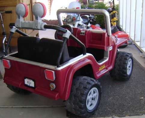 A Great Guide To Cleaning And Repainting Power Wheels Power Wheels Makeover Kids Power Wheels Power Wheels