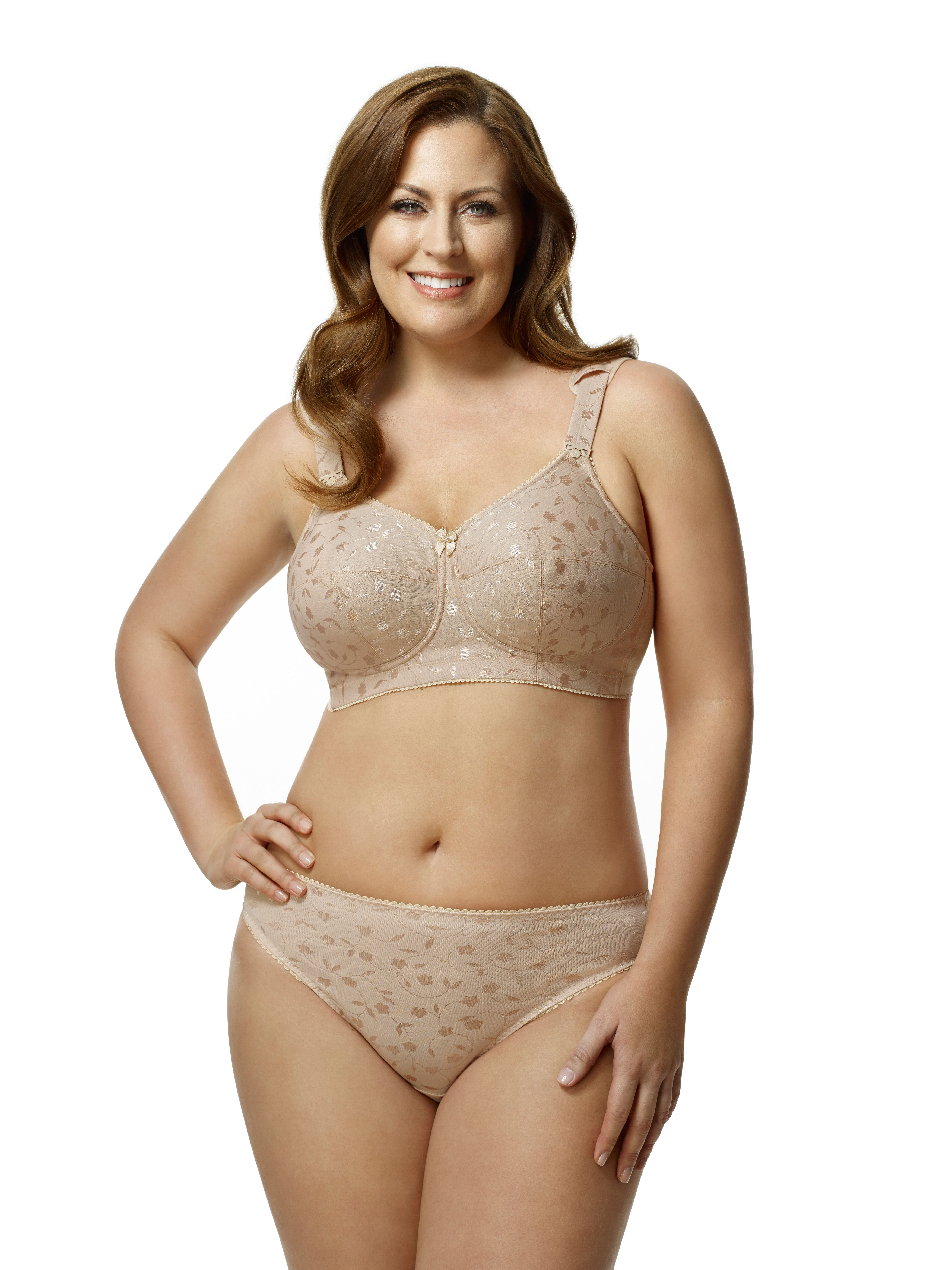 a99ec9dce Jacquard Softcup in Nude, sizes 34 - 52, F - N | Elila Collection ...