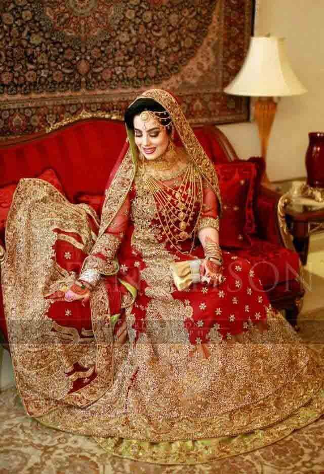2015 New Pakistani Bridal Dress