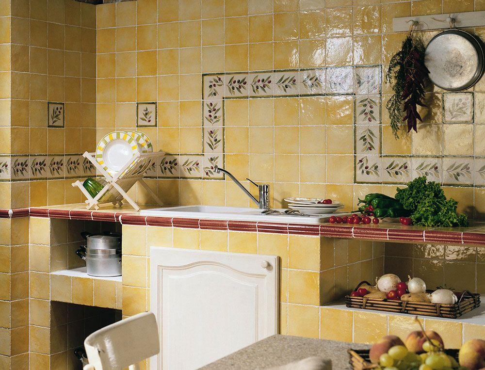 Idée déco  poser un carrelage mural artisanal dans la cuisine