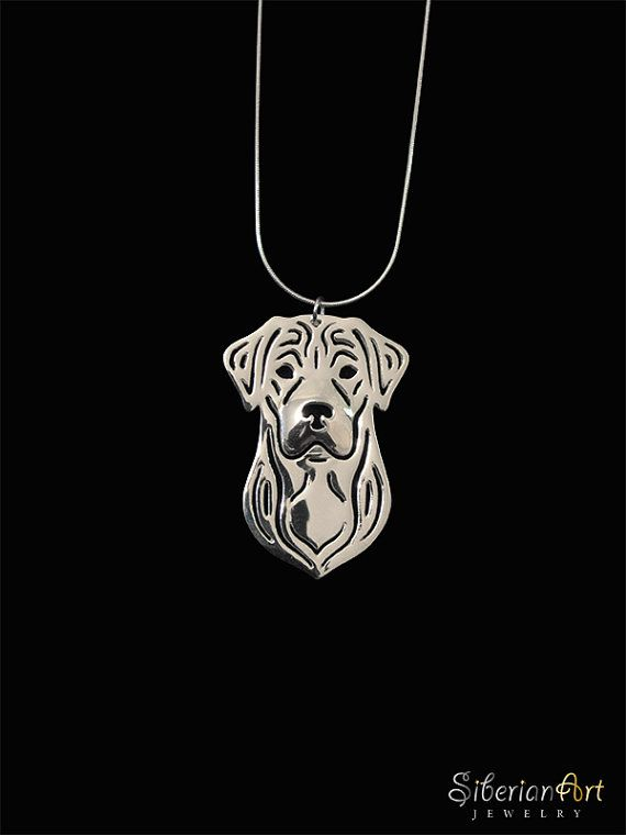 Labrador Retriever Sterling Silver Pendant And Necklace