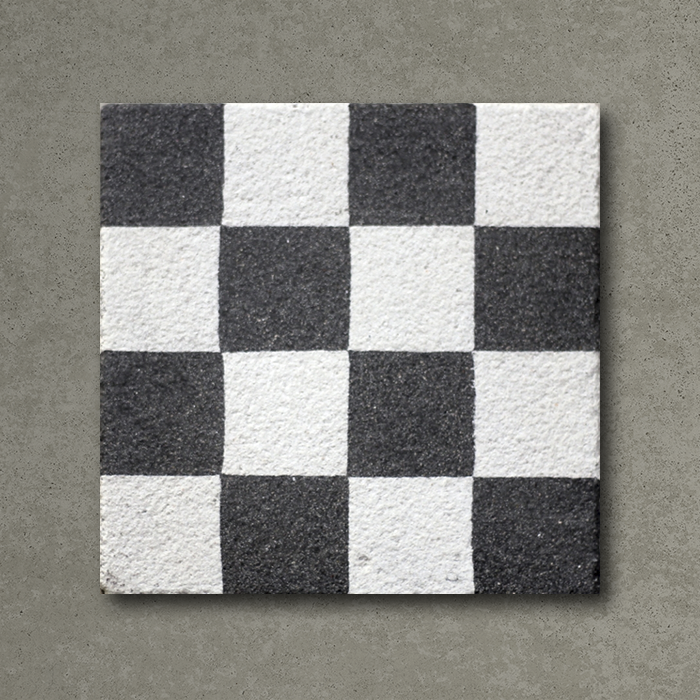 Checkers Tiles Handmade Encaustic Cement Floor Tile Otto