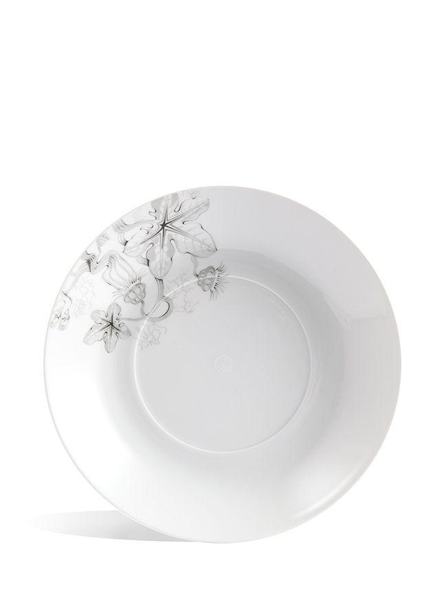 "Soup plate, Shape ""MEISSEN® COSMOPOLITAN"", Garden of Börner, Desert Sun/Sepia, Ø 26 cm"