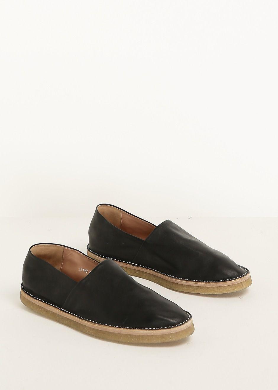 Slip-on metallic leather sneakers Dries Van Noten 4ws4K