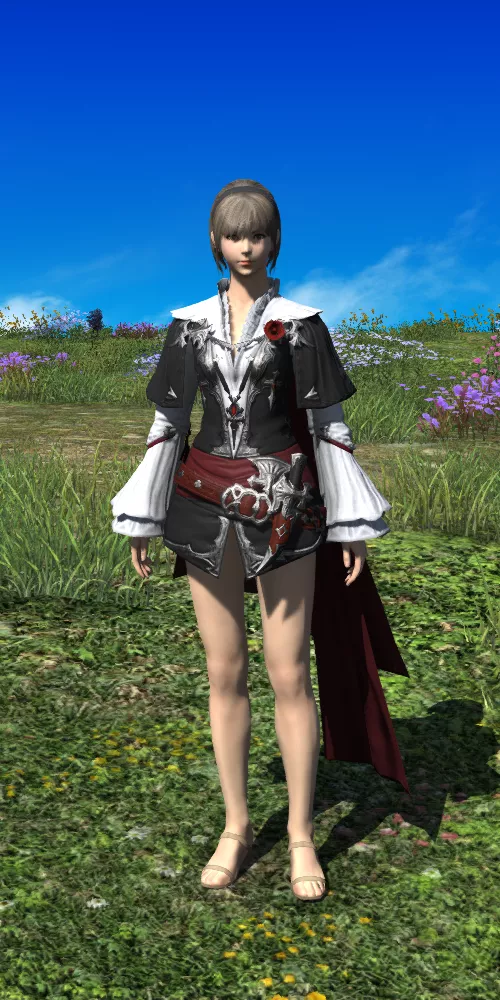 XIV Style | Lost Thief Aiming Armor Set | FFXIV Glamour in