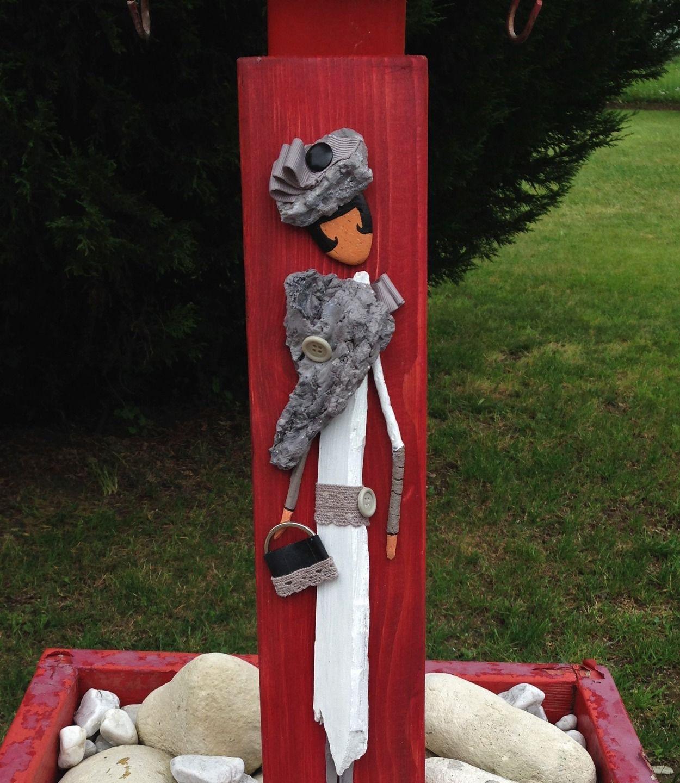 Mademoiselle gladys du bois flott autres art par les for Peindre du bois flotte