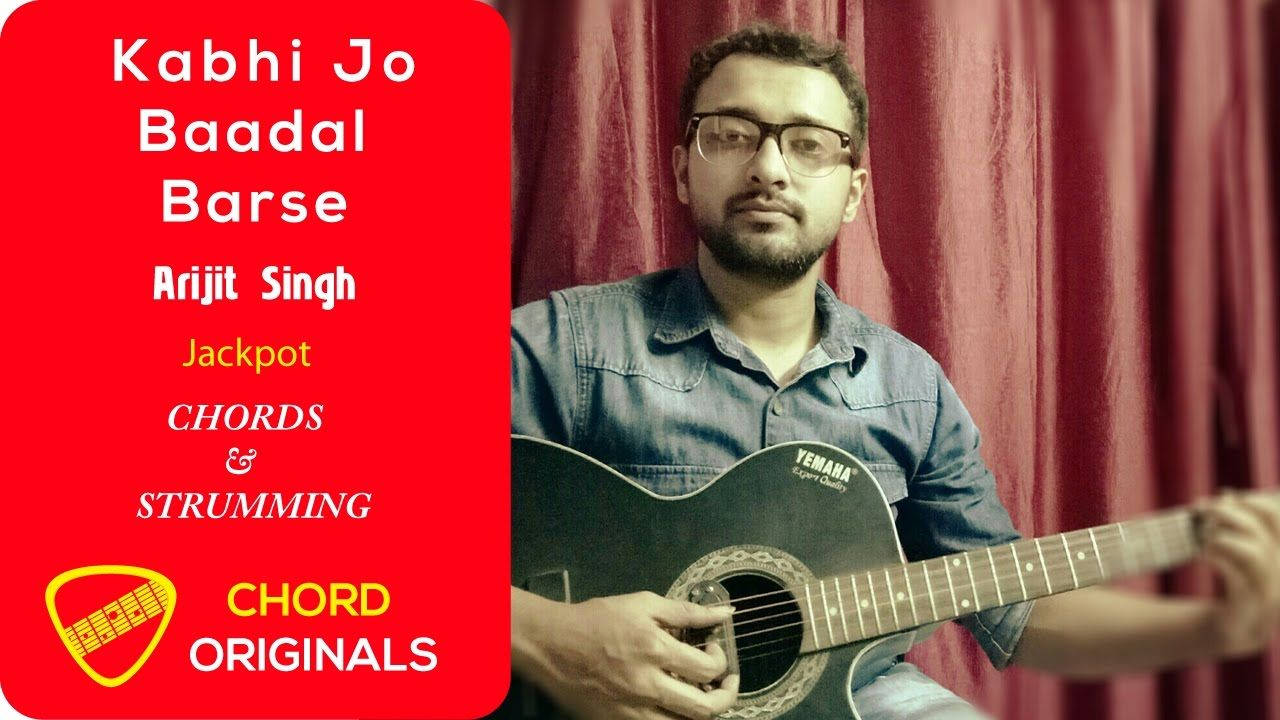 Kabhi jo badal barse guitar lesson easy with capo for beginners 2048e564c79d9a294c4f16b447511535g hexwebz Images
