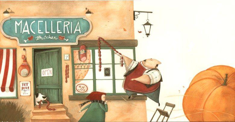 Il roll-via Zucca: Daniela Volpari
