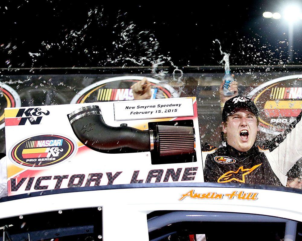 Austin Hill Continues NASCAR K&N Pro Series East Winning