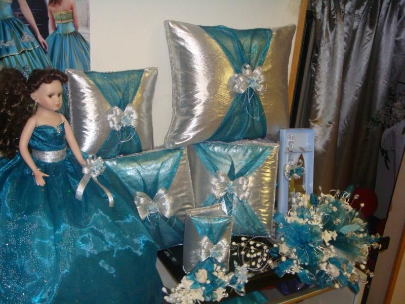 15 Anos Pillows: Cojines Para Quinceaneras