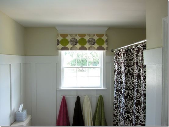 No Sew Diy Window Valance Using Thick Foam Fabric And