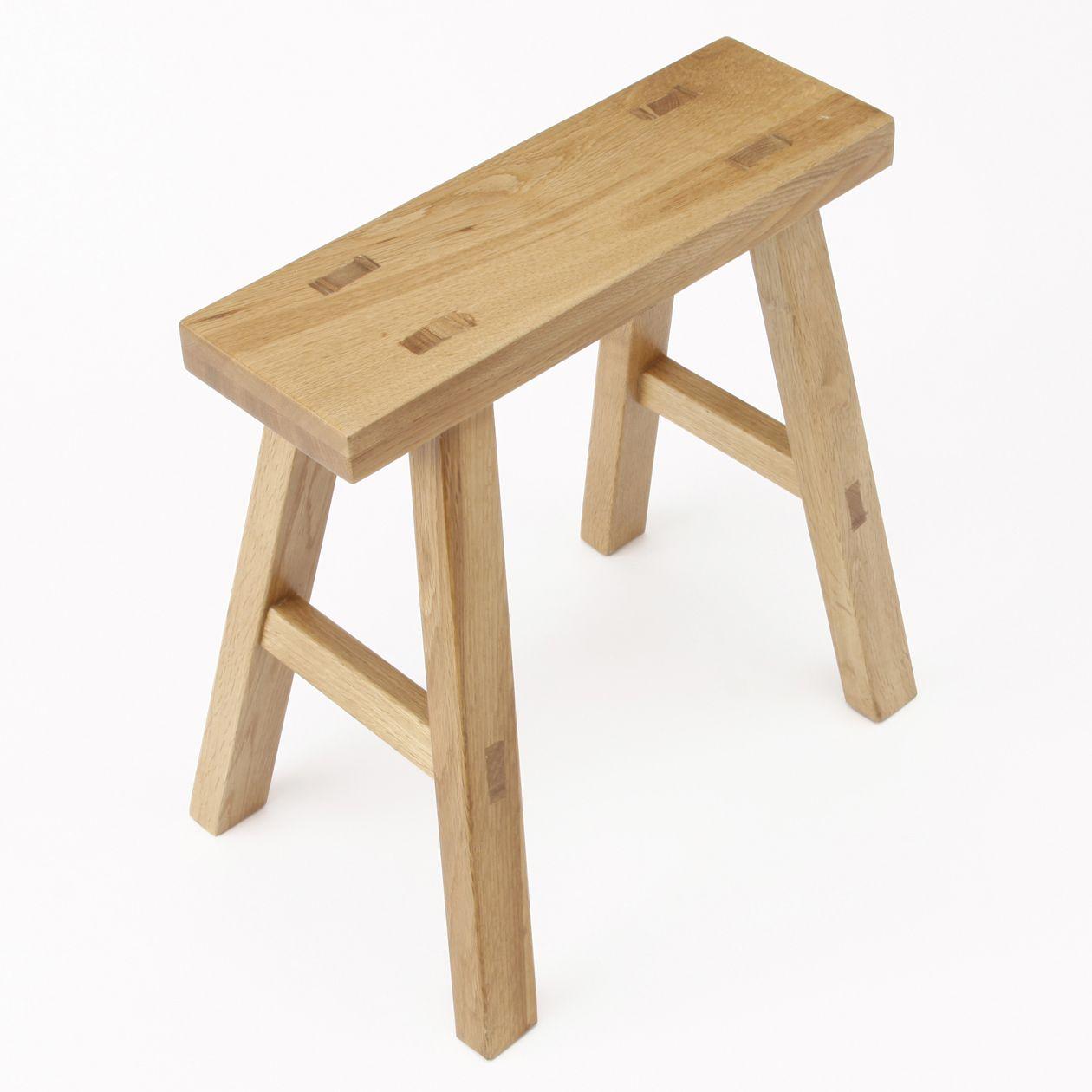 Oak Bench Small Muji 95 Ea Chairs Pinterest