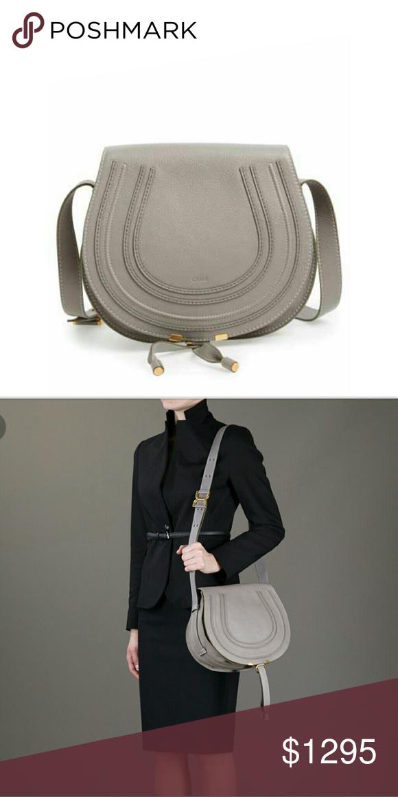 New Chloé  Marcie - Medium  Leather Crossbody Bag f93b4980d5008