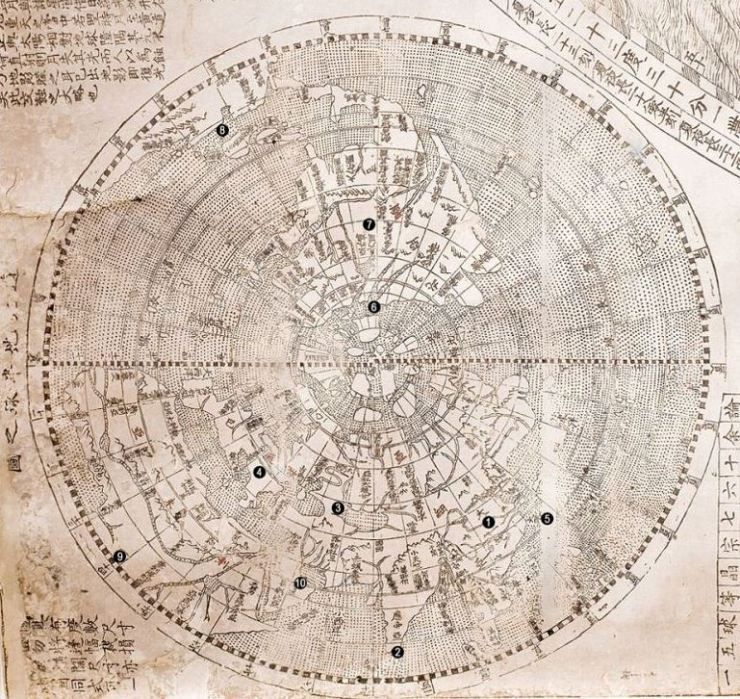 Rare 400 year old map shows china as the centre of the world it was rare 400 year old map shows china as the centre of the world it gumiabroncs Images