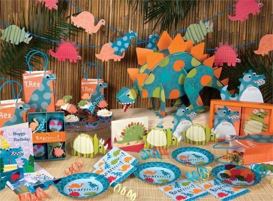 Meri Meri Dinosaur Party Supplies Dinosaur Birthday Decorations