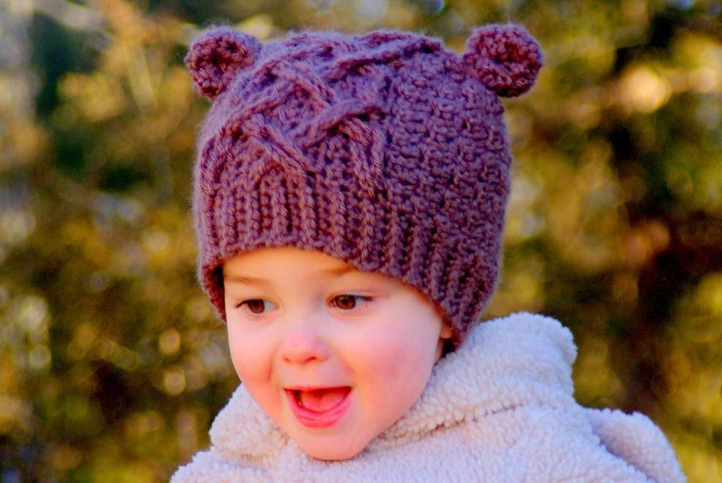 Little Bear Cable Hat Crochet Pattern Hat Crochet Crochet And Bears