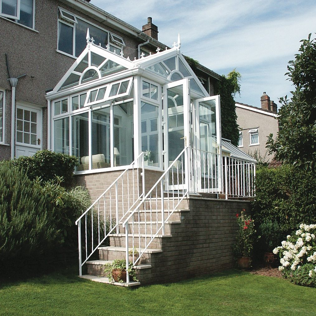 This Statement Gable Fronted Conservatory Shows How Conservatories Can Be Adapted To Fit In Most Gardens Conservatory Leicester Nottingham