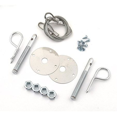 Mr  Gasket 1616 Competition Hood Pin Kit Safety Pin - Set of
