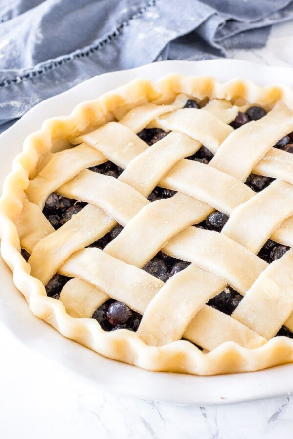 A step-by-step tutorial showing you exactly how to make homemade pie crust. This recipe is made wit