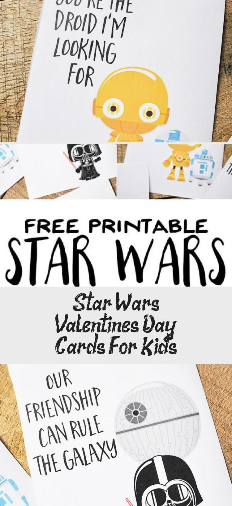I love these Free Printable Star Wars Valentines Day Cards ...