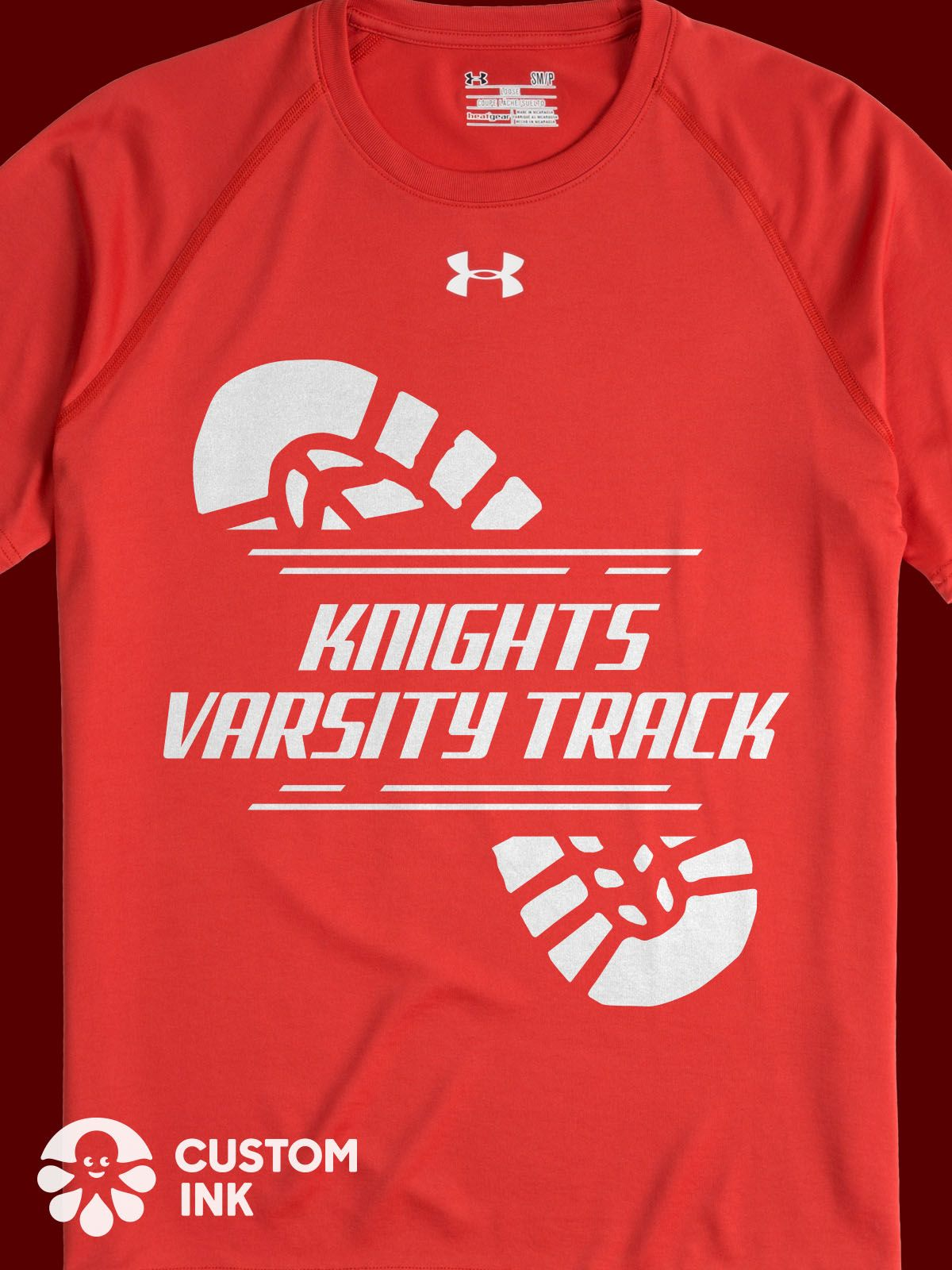 6c84bdd91 Varsity track custom shirt design idea for k12 high school. Perfect for  track and field, competition, track meet, moms and supporters, and more