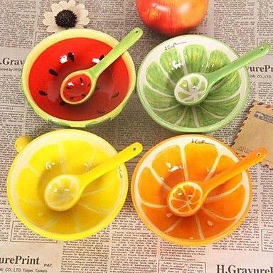 diseño encantador de la fruta cuencos de cerámica sandía 13x13x4.2cm \u2013 USD $ · Funny CupsFruit DesignsCeramic BowlsWatermelonDinnerwareYou ...  sc 1 st  Pinterest & Lovely Fruit Design Ceramic Bowls Watermelon13x13x4.2cm | Bowls