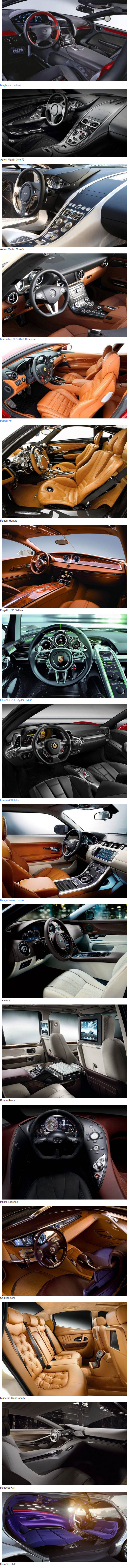 most beautiful and expensive car interiors sweet interior pinterest. Black Bedroom Furniture Sets. Home Design Ideas