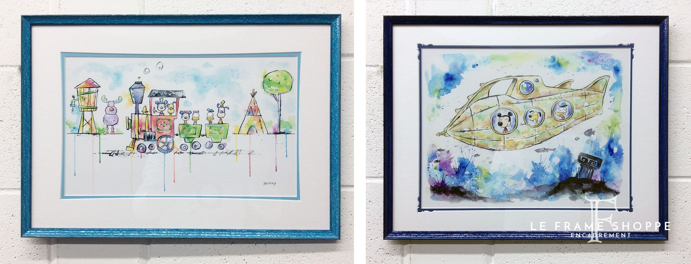 How sweet are these #Disney prints? We chose distressed lacquered ...