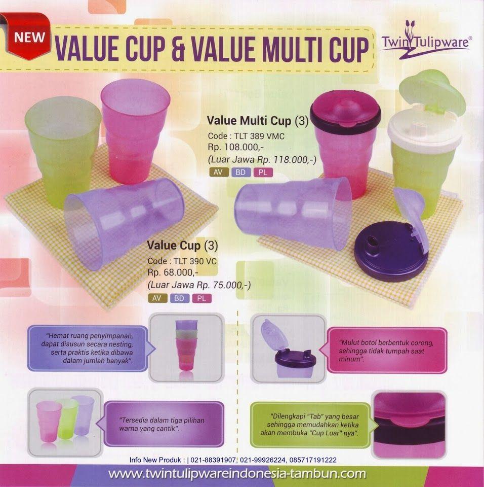 Produk Baru Tulipware 2014, Value Cup, Value Multi Cup