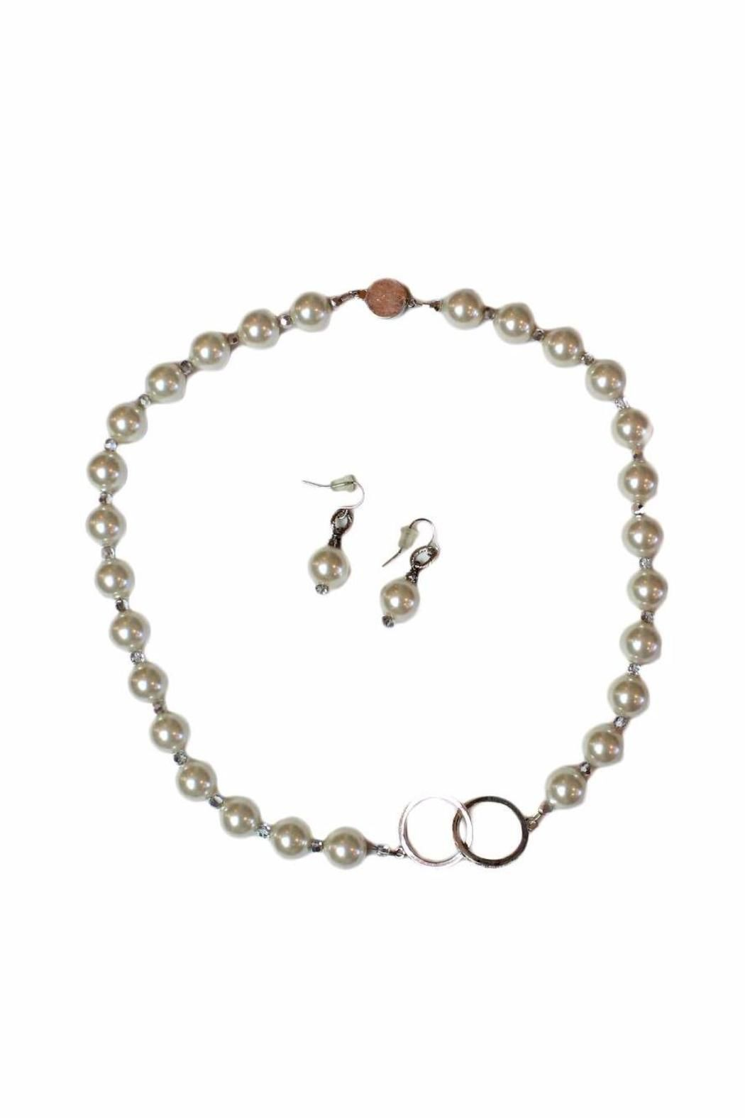 Carte Blanche Anklets Carte Blanche Pearl Jewelry Set Shoptiques Boutique Products