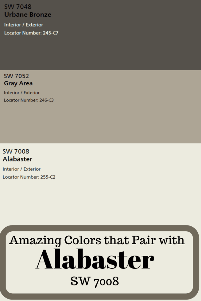 Sherwin Williams Alabaster Sw 7008 Exterior House Paint Color
