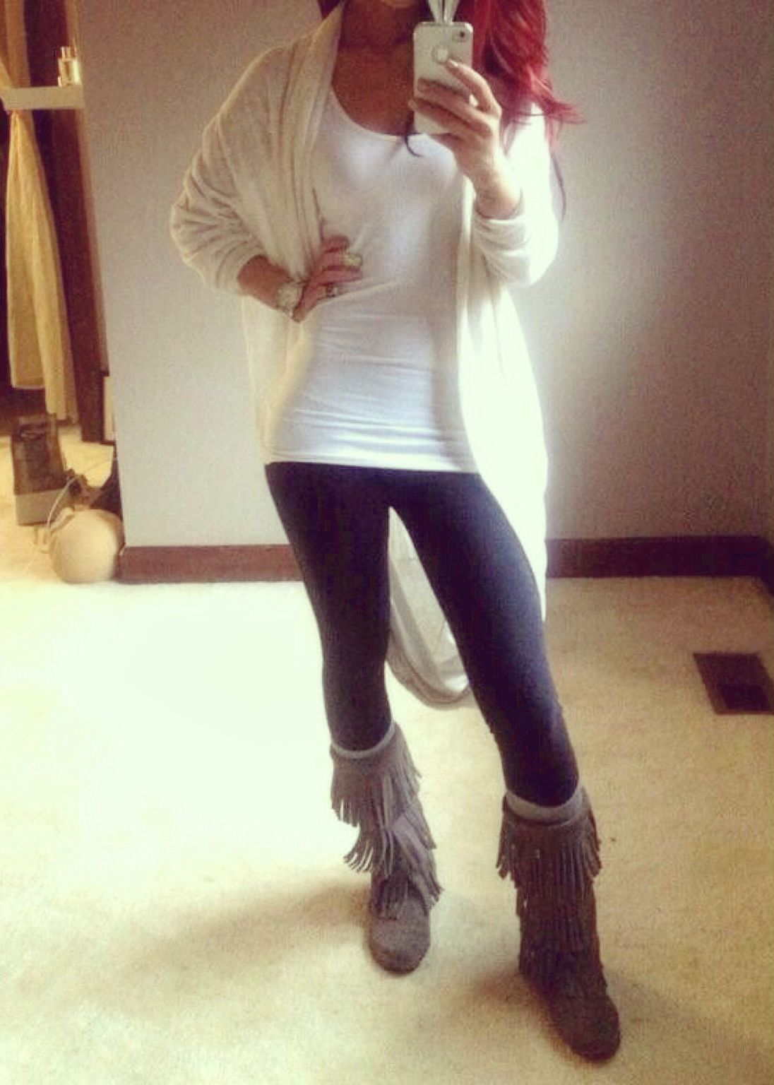 lovely lazy cardigan outfits 13