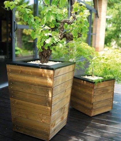 bande - Grand Pot Pour Jardin