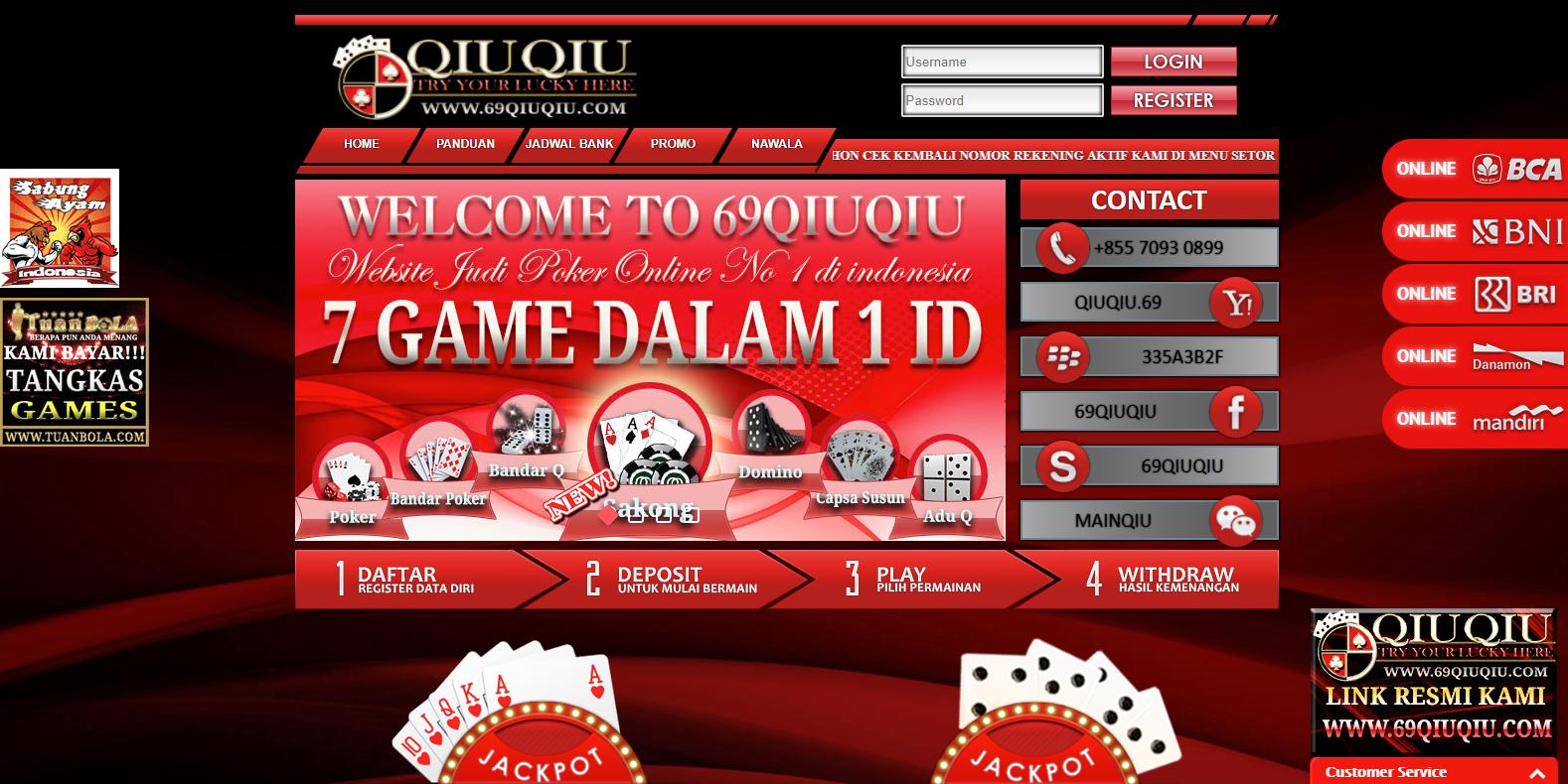 Agenqiuqiu Net Situs Bandar Poker Domino Qiu Qiu Online Terpercaya Di Indonesia Dengan Suport 6 Bank Local Di Indonesia Agenqiuqiu Poker Kartu Permainan Kartu