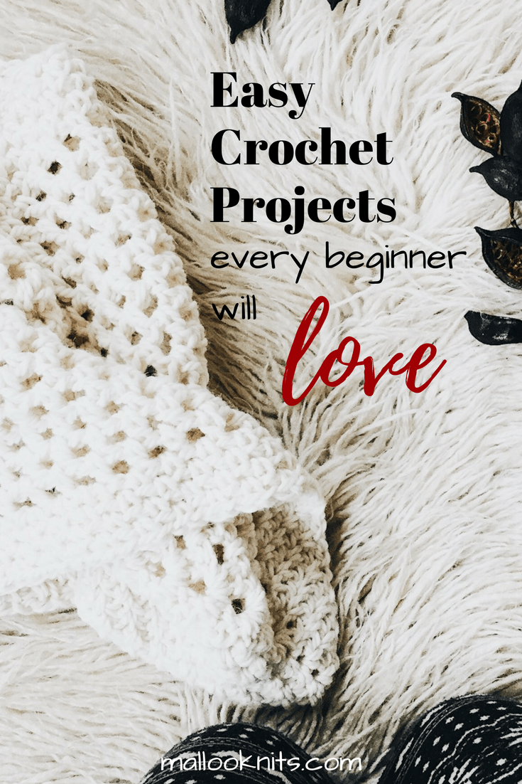 Easy crochet projects that every beginner will love