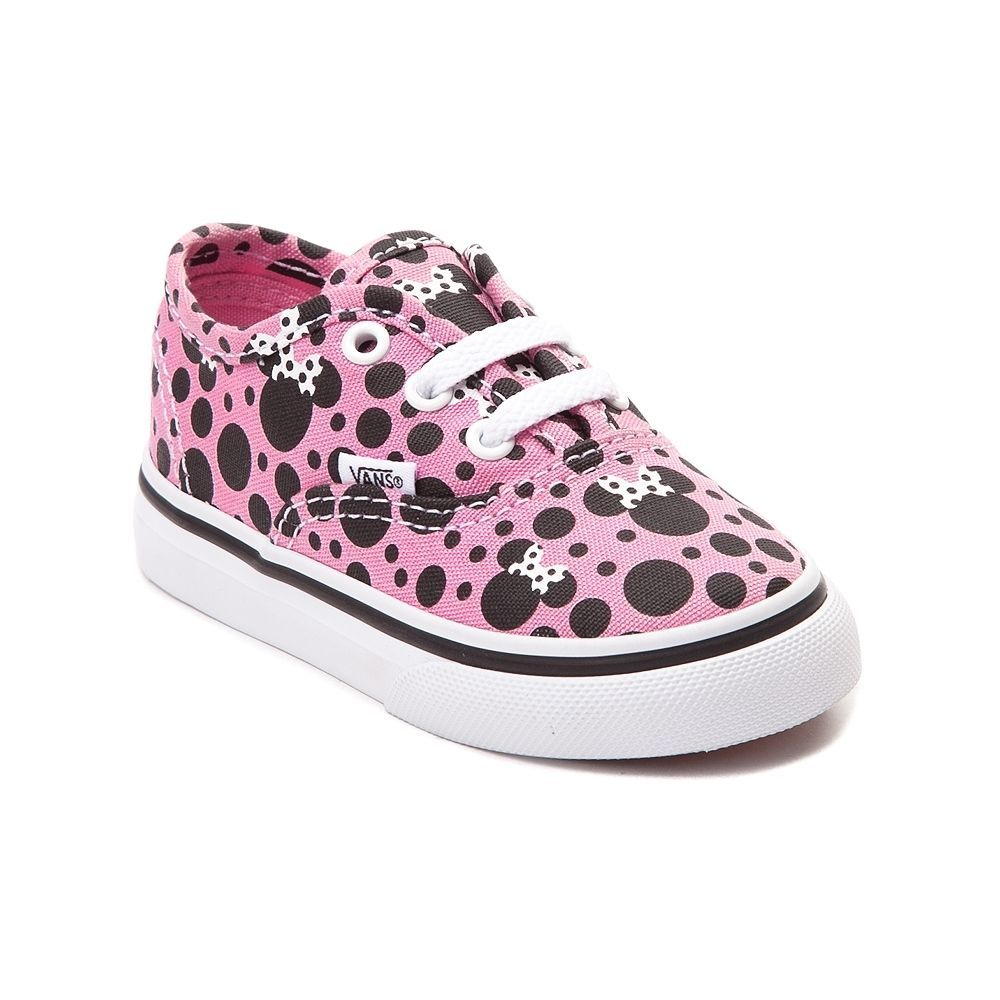 4861a76f0e9 new toddler  disney vans authentic minnie skate shoe light pink dots girls   baby from  67.99