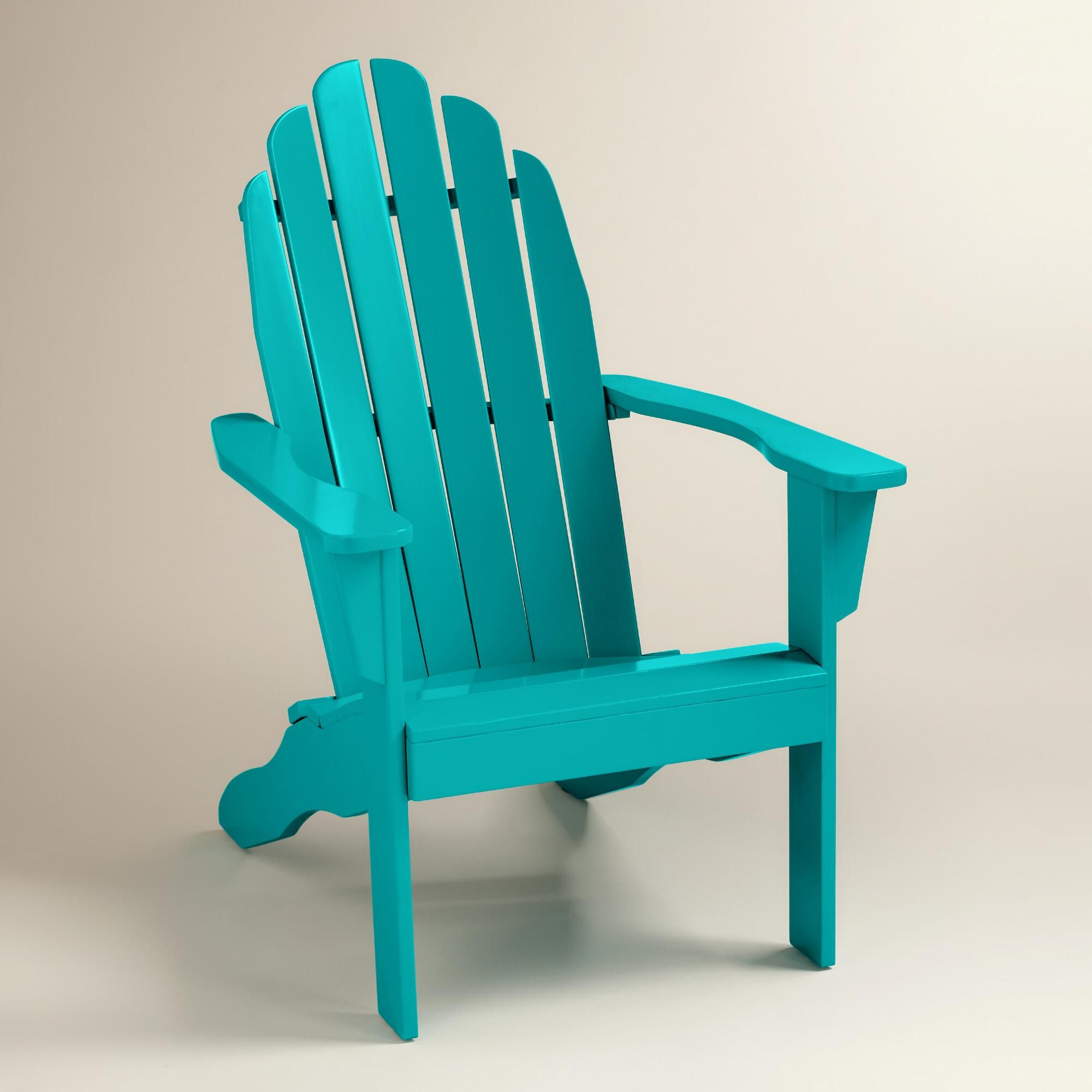 Built For Comfort Our Exclusive Light Blue Adirondack Chair
