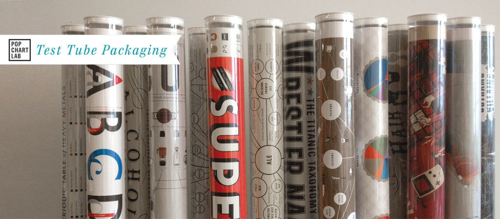 Pop Chart Lab Test Tube Packaging