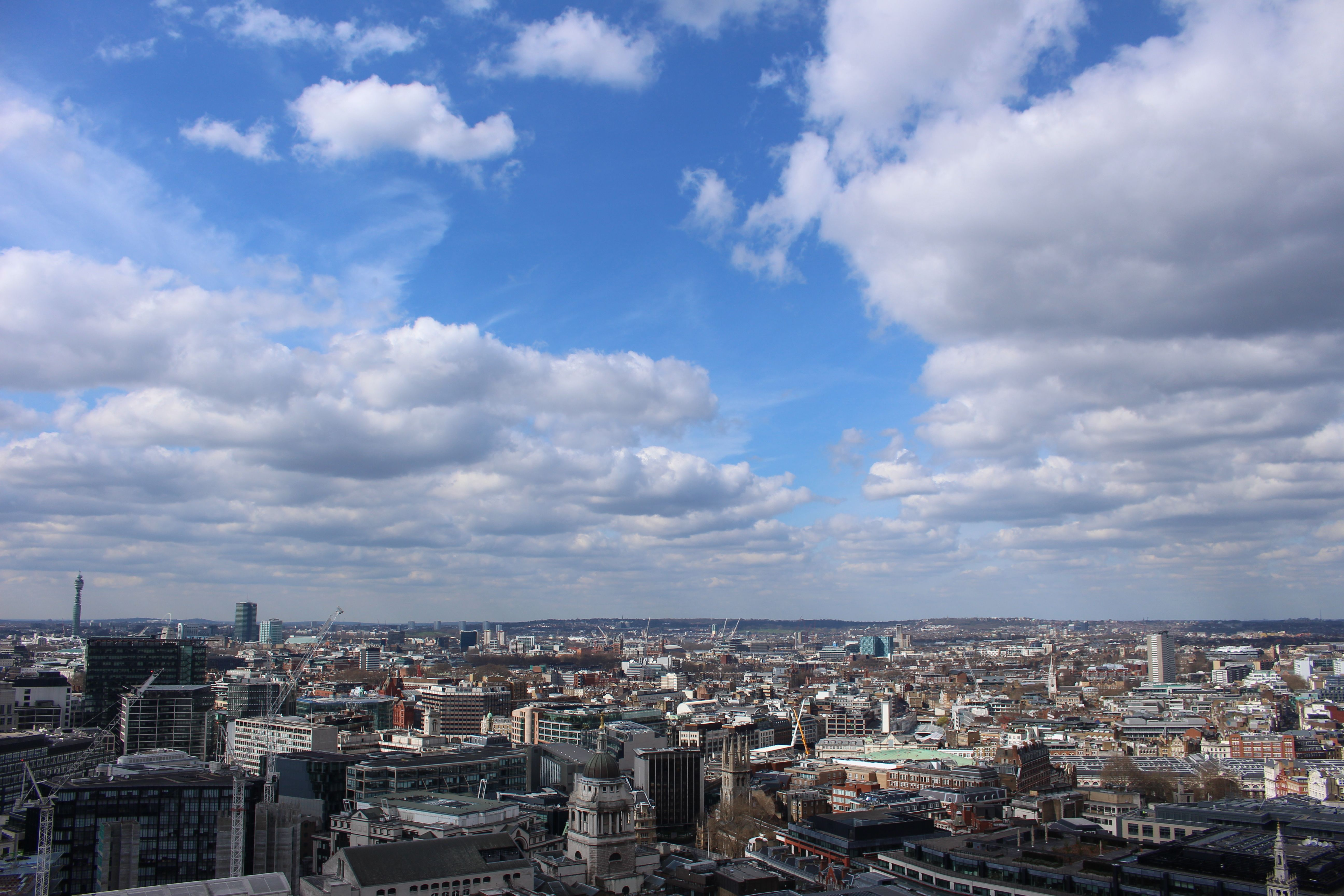 From the top of St Paul's Cathedral