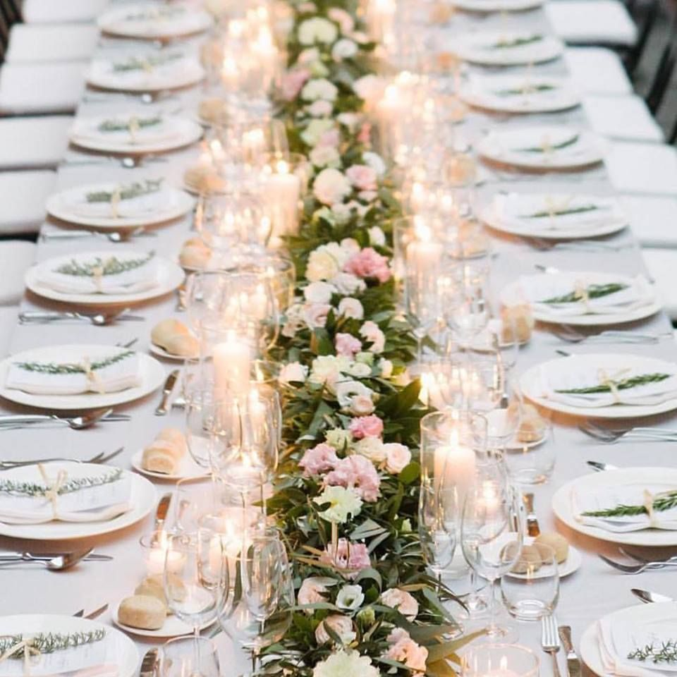 Goddess By Nature | Australian-made Bridesmaids and Wedding Dresses  sc 1 st  Pinterest & What a pretty table setting ✨ | Party Ideas | Pinterest | Wedding ...