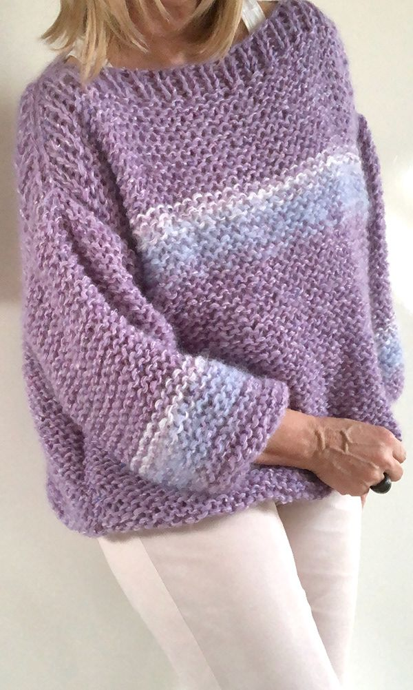 PureMe Made For You - SWEATER LILAC