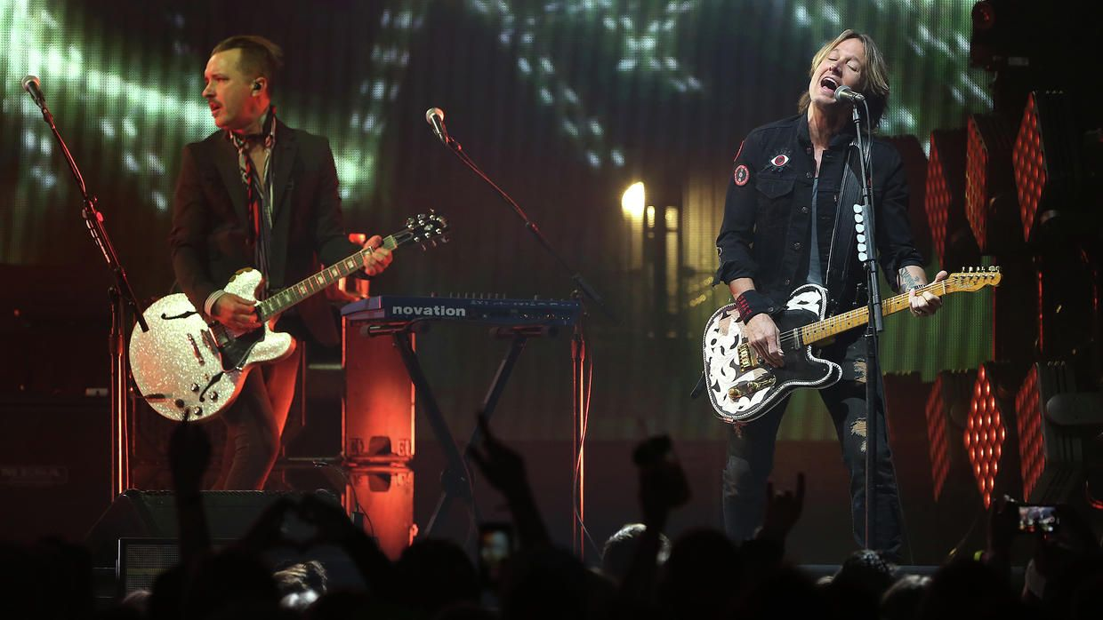 Country music star Keith Urban made a stop in Grand Forks on