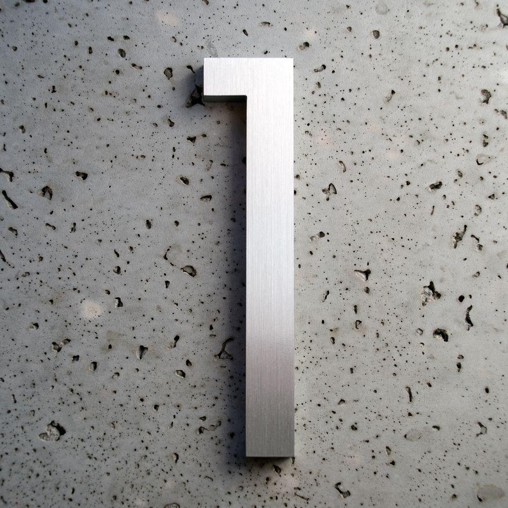 Modern House Numbers 1 Hausnummern Moderne Hausnummern